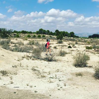 Nos vamos de excursión, senderismo, salida en familia, excursión, ruta, Almoradí, Alicante, Las Heredades, Hoy Serrano,