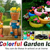 10 Colorful Garden Ideas in School or at Home