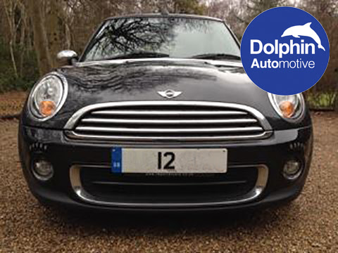 Mini Installed With Daytime Running Lights