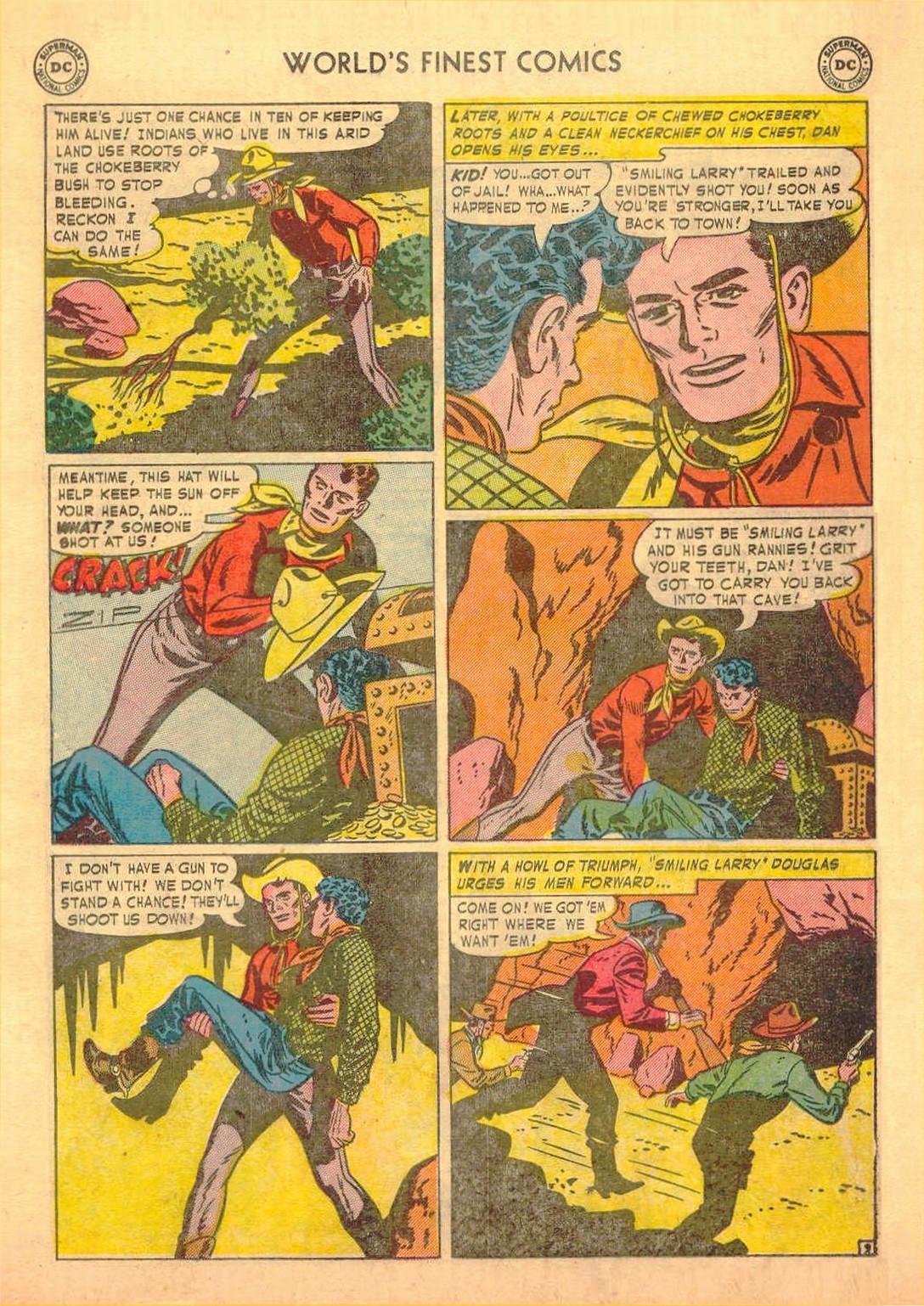 Read online World's Finest Comics comic -  Issue #58 - 37