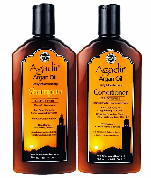 hair products damaged