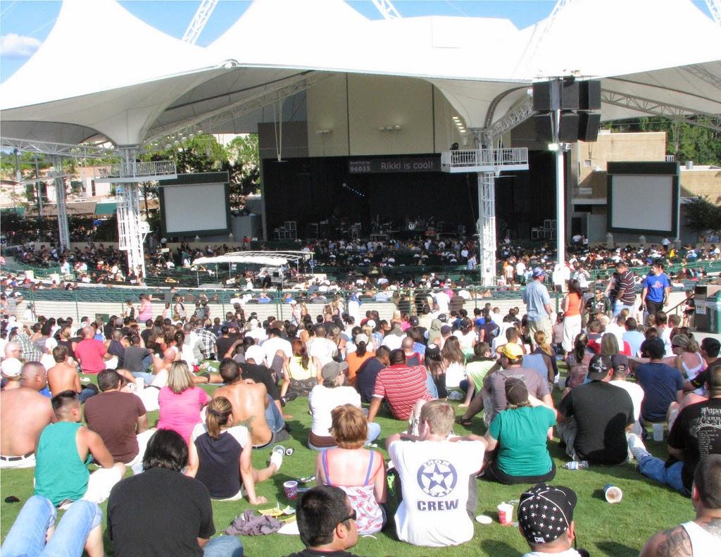 Summer Outdoor Concert Venues April 2015