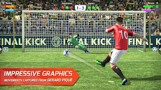 Final kick: Online football v7.2.6 Mod