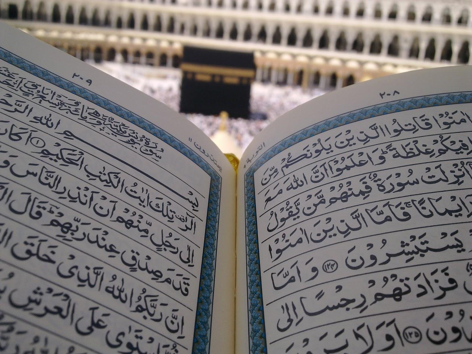 Bacaan Arab Al Quran Surat Al Fatihah An Nas Dan Al Falaq