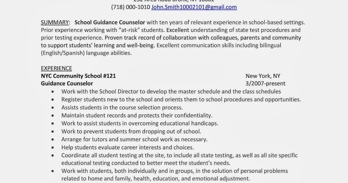 Guidance Counselor Interview Questions And Answers - a-k-binfo
