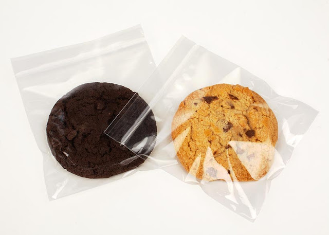 Crystal Clear Zip Bags for packaging Cookies