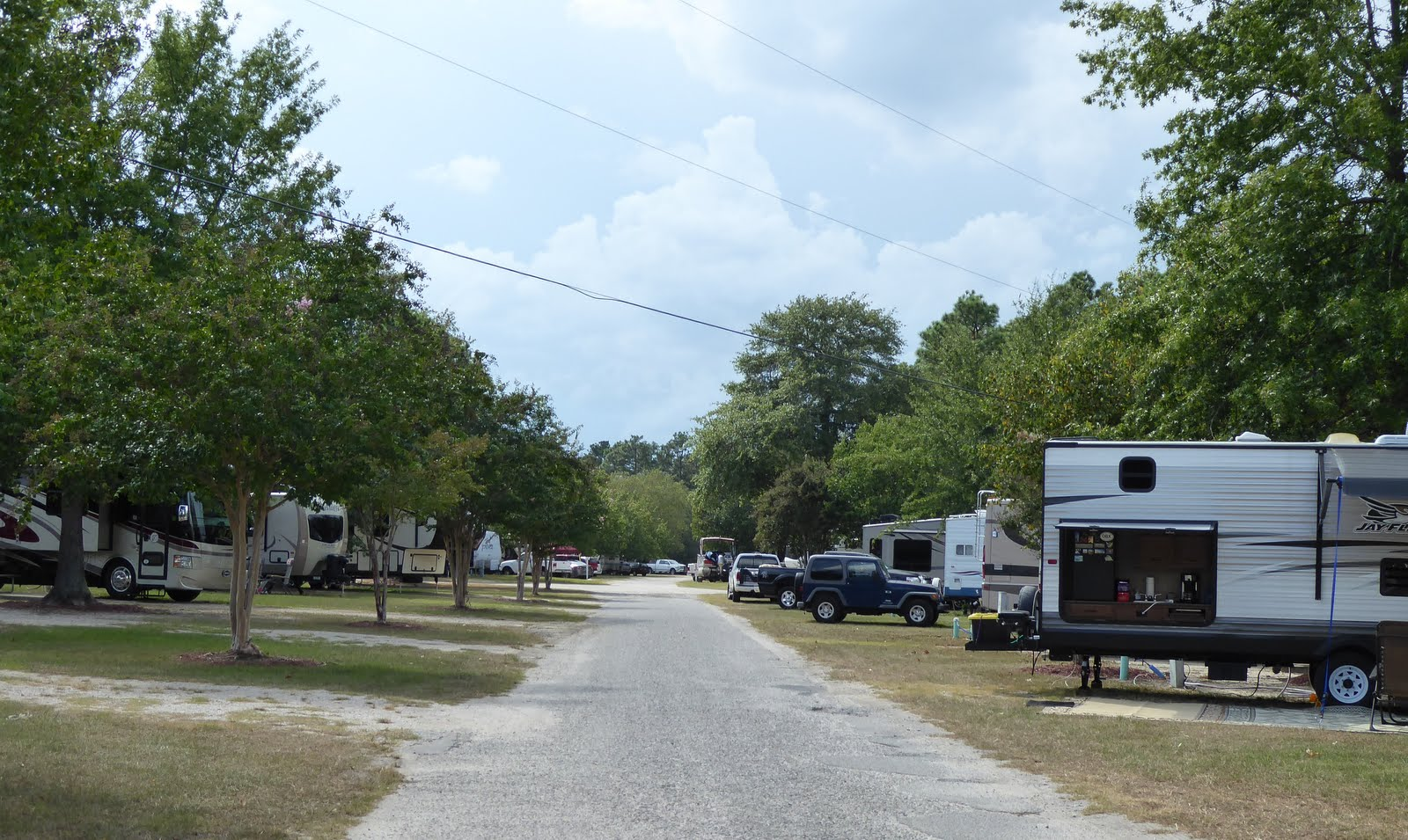 Retired Nomads The Barnyard Rv Park Columbia Sc