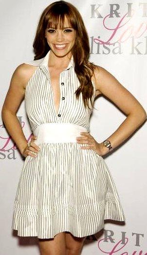 Foto de Jessica Sutta con vestido
