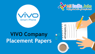 Vivo Placement Papers
