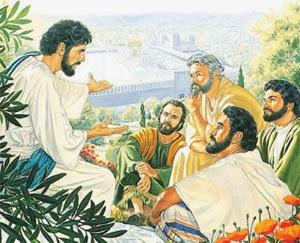 Iisus so svoimi uchenikami