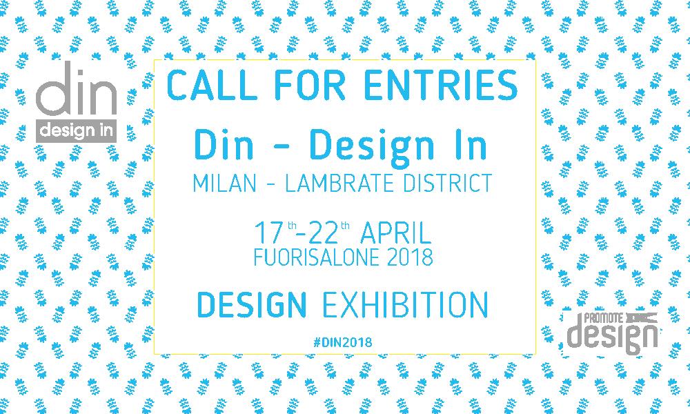 Design e creatività al Fuorisalone 2018 con l'evento espositivo Din – Design In