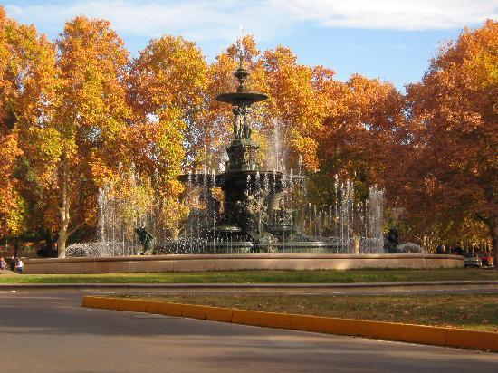 Parque General San Martín em Mendoza na Argentina