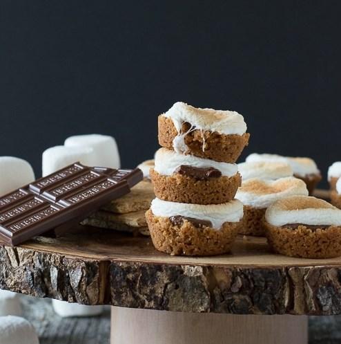 S'mores Bites #cakes #dessert