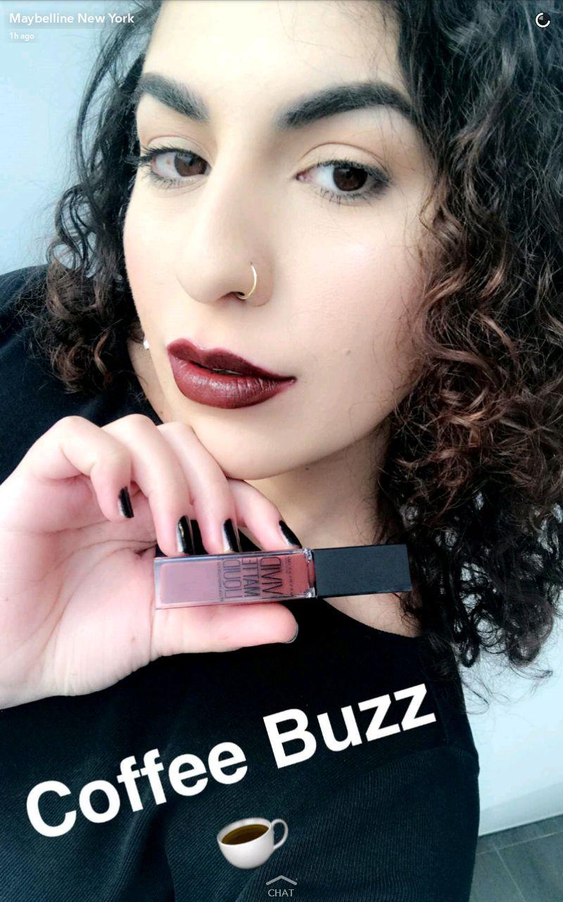 maybelline new vivid matte liquid lipstick swatches 12 coffee buzz lip swatch