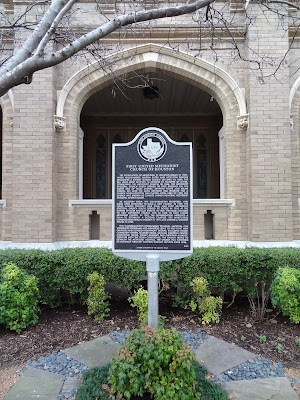 First United Methodist Church of Houston Historical Marker