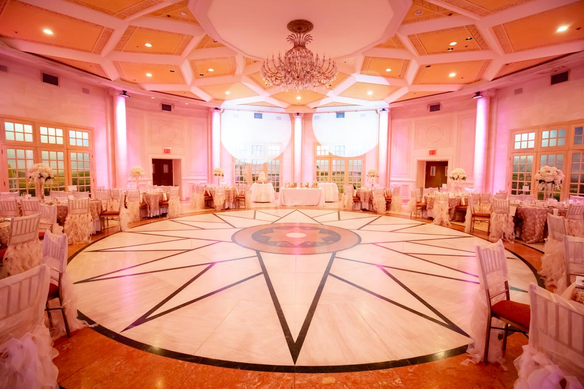 So colorful reception venue