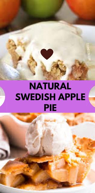 APPEALING SWEDISH APPLE PIE|NATURALLY VEGAN  GLUTEN FREE|