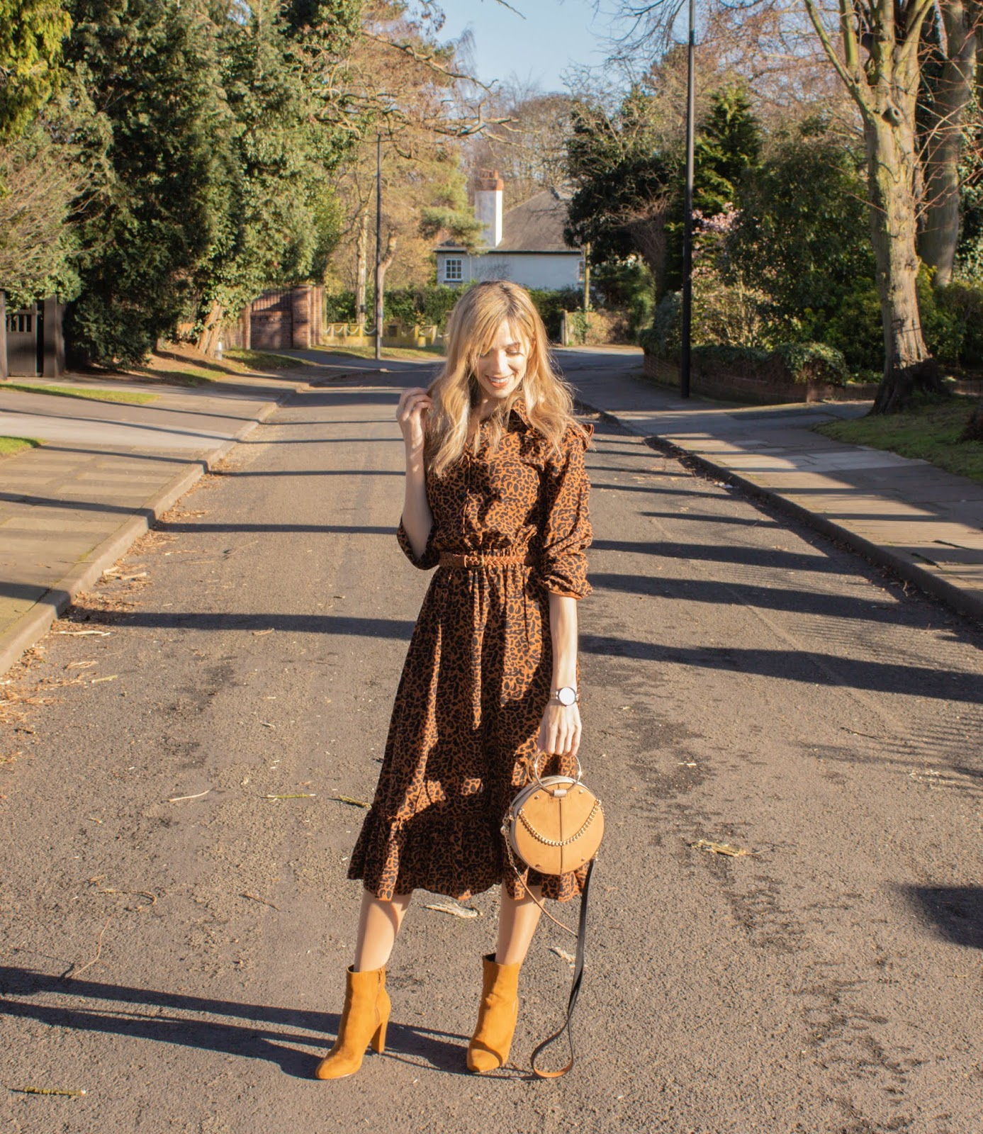 Prairie Style Dress From Pretty Little Thing