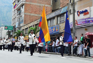 Banda marcial de la Salle bello antioquia independencia