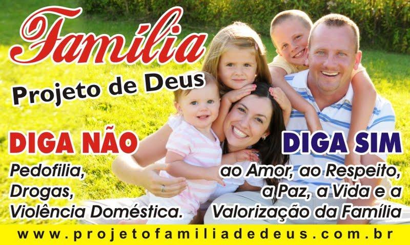 Família Projeto De Deus: Familia De Deus: PROGRAMA FAMILIA PROJETO DE DEUS
