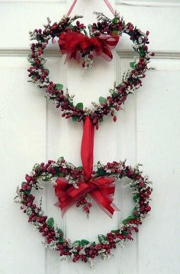 Dishfunctional Designs Valentine S Day Wreaths Ideas Beautiful