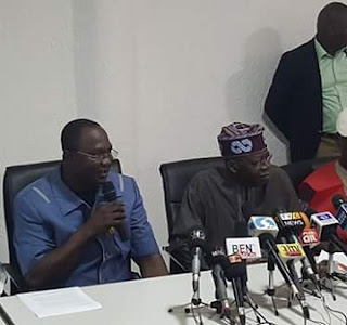 BREAKING: Tinubu Spotted With NLC Chairman, Wabba At Labour House, Abuja; See Photos