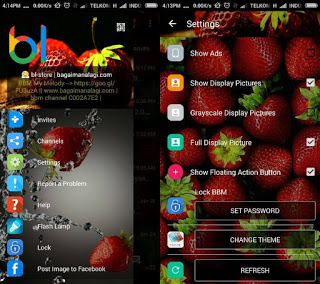 BBM WhatsApp Strawberry