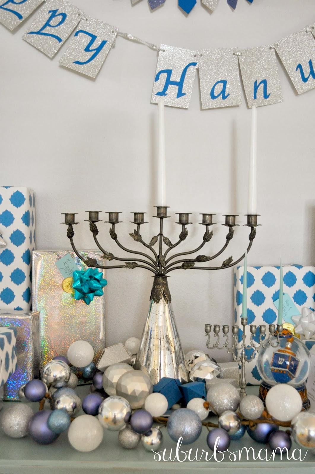 Suburbs Mama Hanukkah Decor 2013