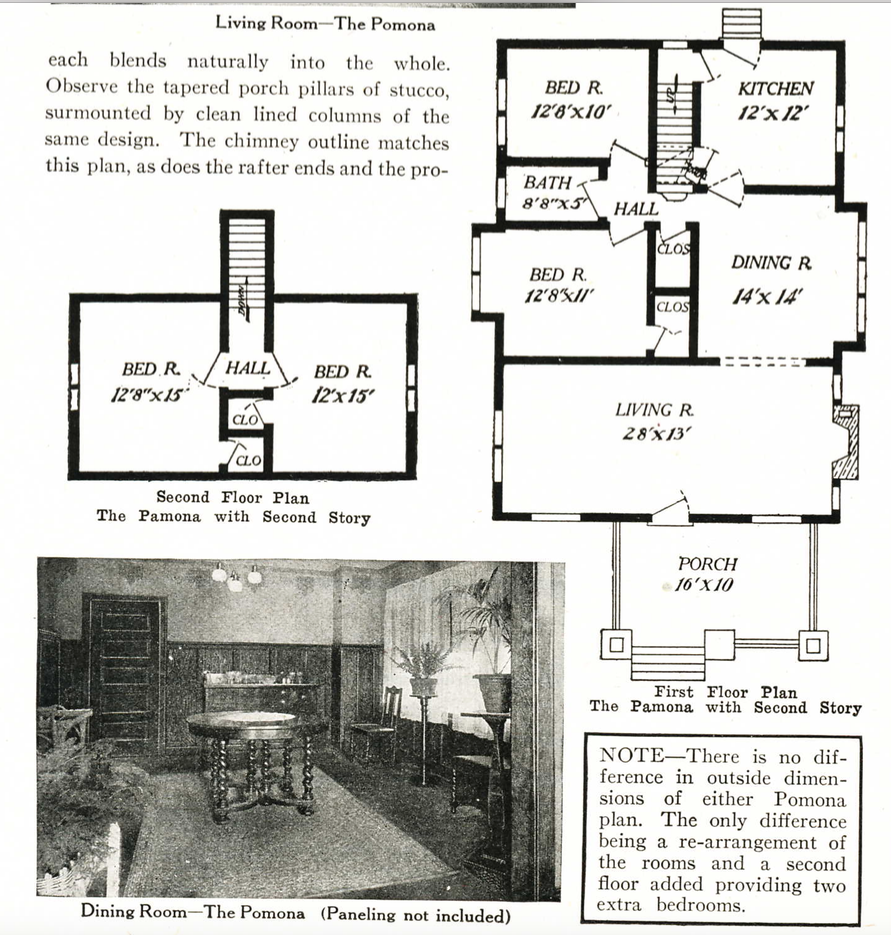 Epic Pomona floor plan had the addition of two upstairs bedrooms but also a few changes were made to the layout of the first floor