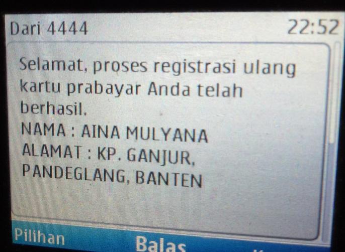 CARA REGISTRASI ULANG KARTU INDOSAT, TELKOMSEL, DAN XL  FORUM GURU INDONESIA