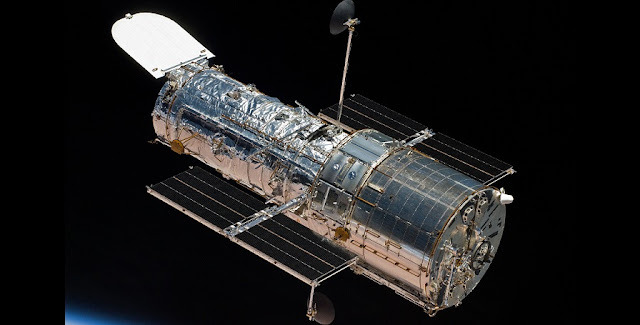 NASA's Hubble Space Telescope. Credits: NASA