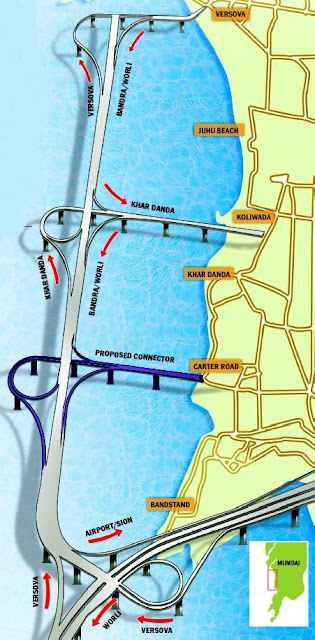 Image result for Bandra-Versova sea link project