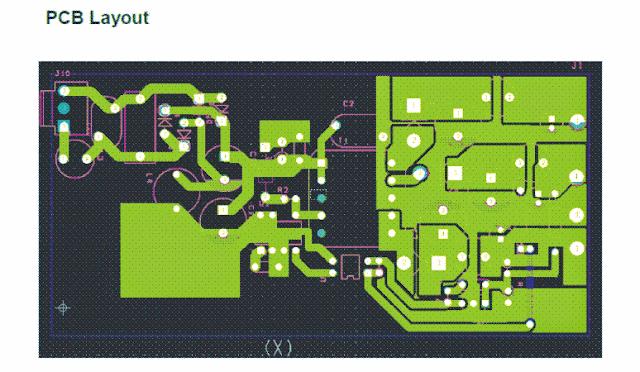 PCB layout for 3.3V, 5V, 9V SMPS Circuit
