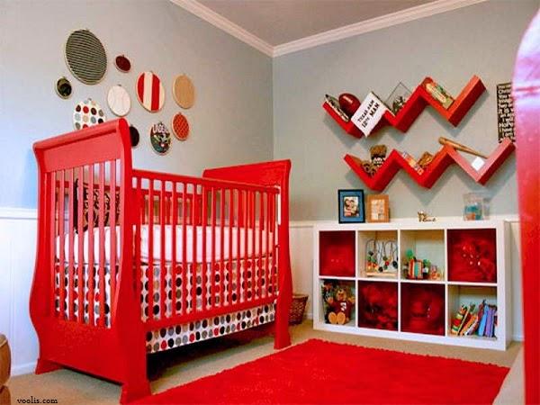 chambre b b rouge b b et d coration chambre b b sant b b beau b b. Black Bedroom Furniture Sets. Home Design Ideas