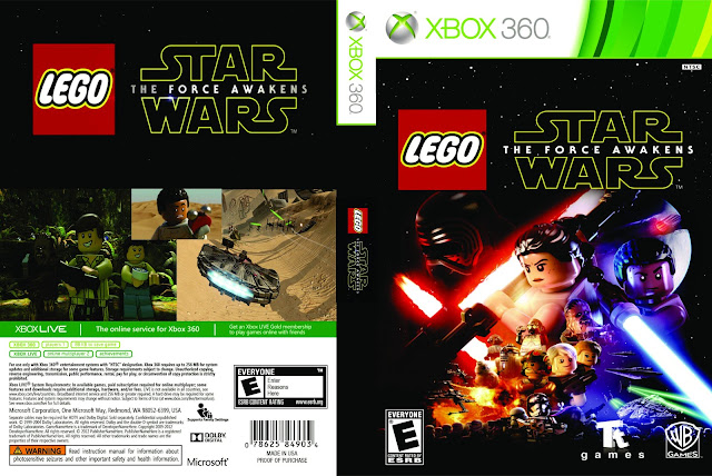 Capa LEGO Star Wars The Force Awakens Xbox 360