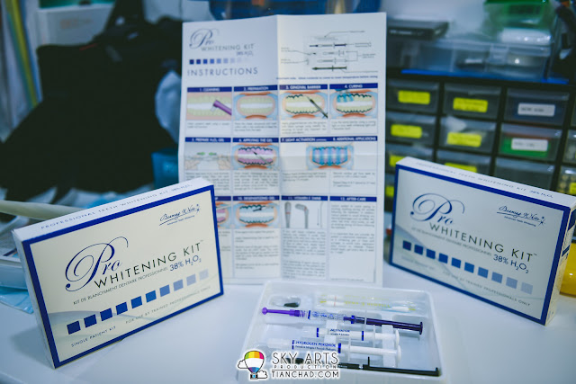 Professional Teeth Whitening Kit with 38% H2O2