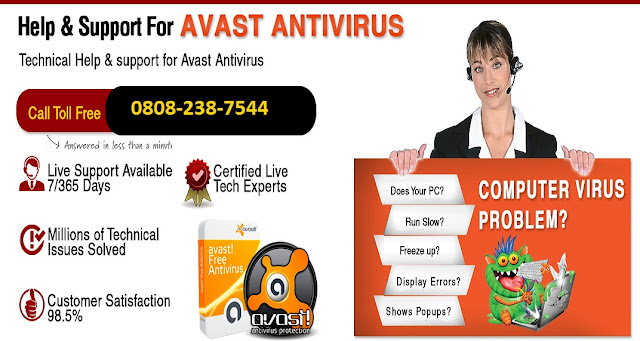 Avast Phone Number UK