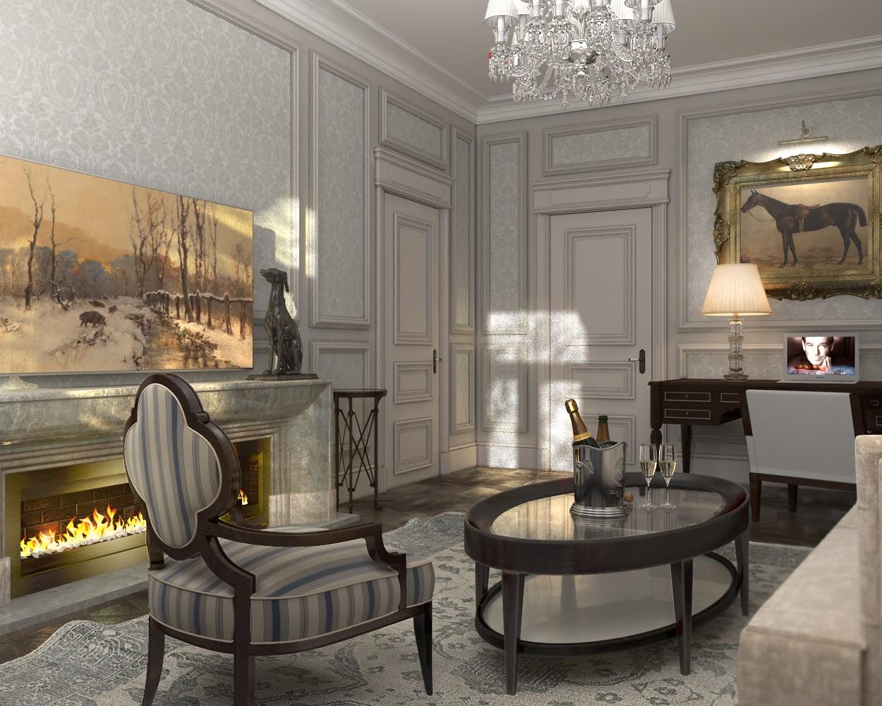 Darya girina interior design interior design of lux for Luxe interieur design
