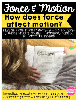 https://www.teacherspayteachers.com/Product/Science-Force-Motion-How-Does-Force-Affect-Motion-5-Investigations-2234133