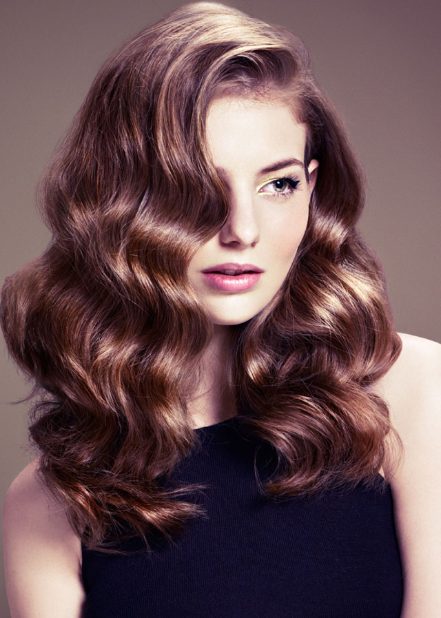Liz Martins, Big Soft Waves, Hair