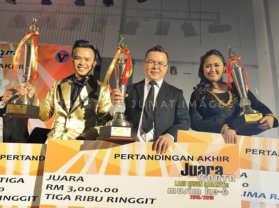 Pemenang Juara Carta Lagu Dusun SabahVFM Musim Ke-6 2015/2016