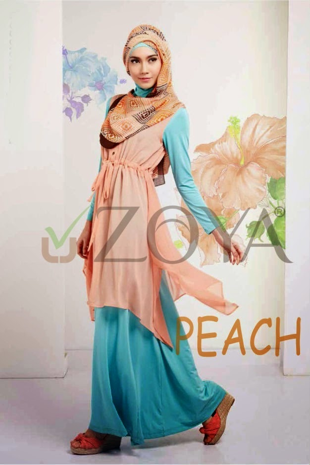 18 Contoh Model Baju Muslim Zoya Terbaru Dan Terbaik Kumpulan