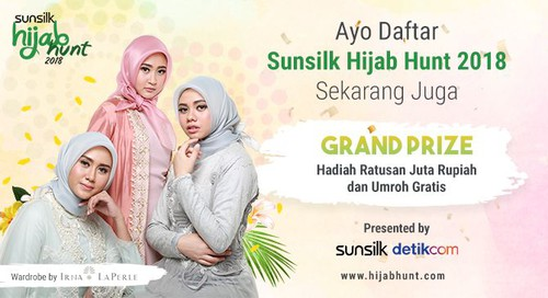 Jadwal Audisi Sunsilk Hijab Hunt 2018
