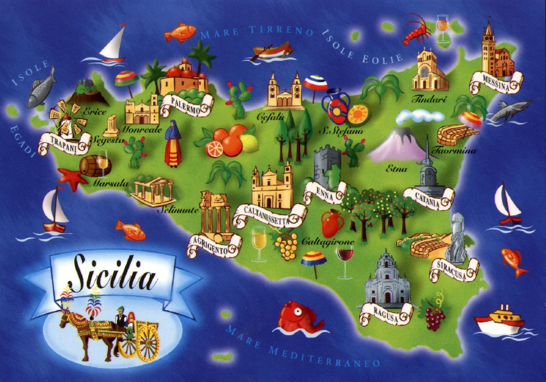 Delizie culinarie della sicilia e del salento la cucina for Cucina siciliana
