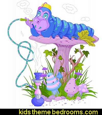 The Blue Caterpillar Peel and Stick Wall Decals