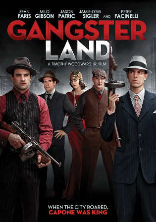 Gangster Land 2017 WEB-DL 270MB English 480p ESub Watch Online Full Movie Download bolly4u