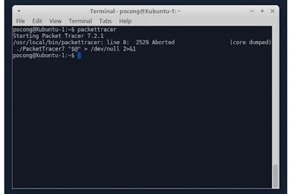 Cara Mengatasi Cisco Packet Tracer Tidak Bisa Dibuka di Linux