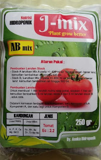 nutrisi hidroponik tomat