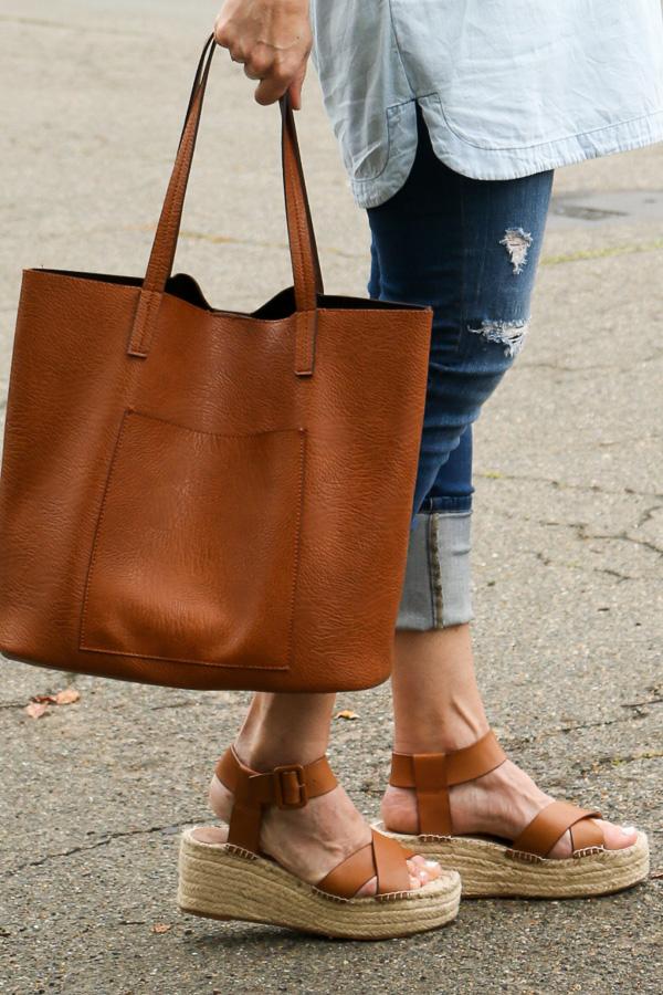 cognac flatform espadrille sandals sole society