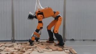 Honda werkt aan mensachtige robot voor hulp na rampen